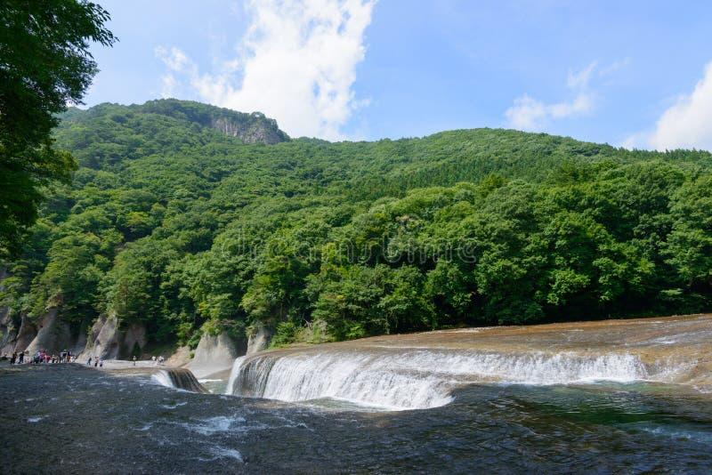 Fukiware понижается в Gunma, Японию стоковое фото