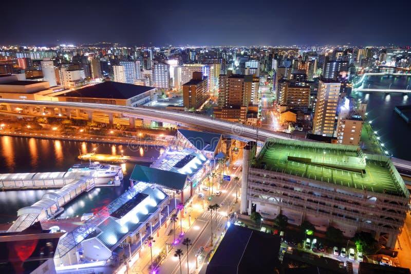 Fukuoka, Japão foto de stock royalty free