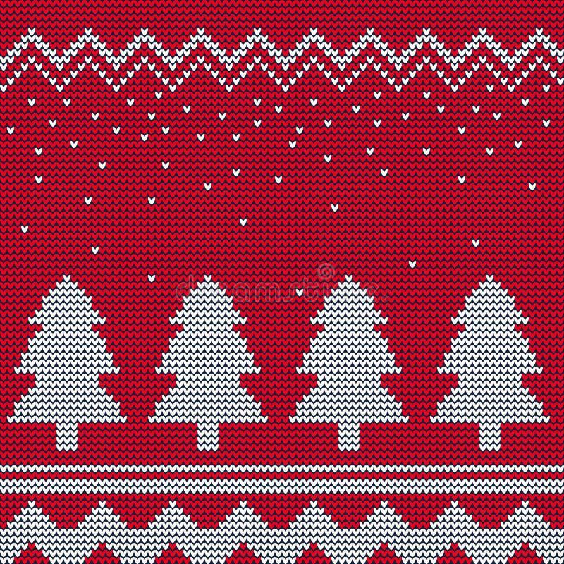Ful tröja 1 för jul stock illustrationer