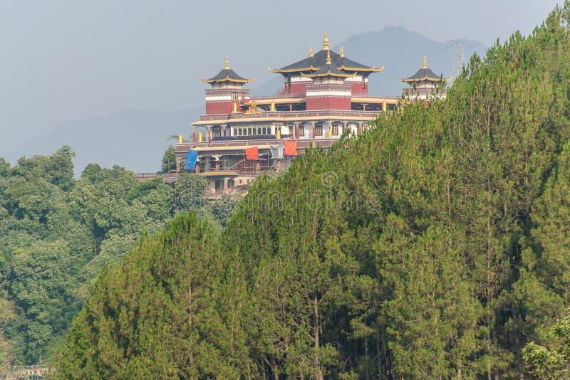 Fulauri Boeddhistisch Klooster in Katmandu Nepal stock afbeeldingen
