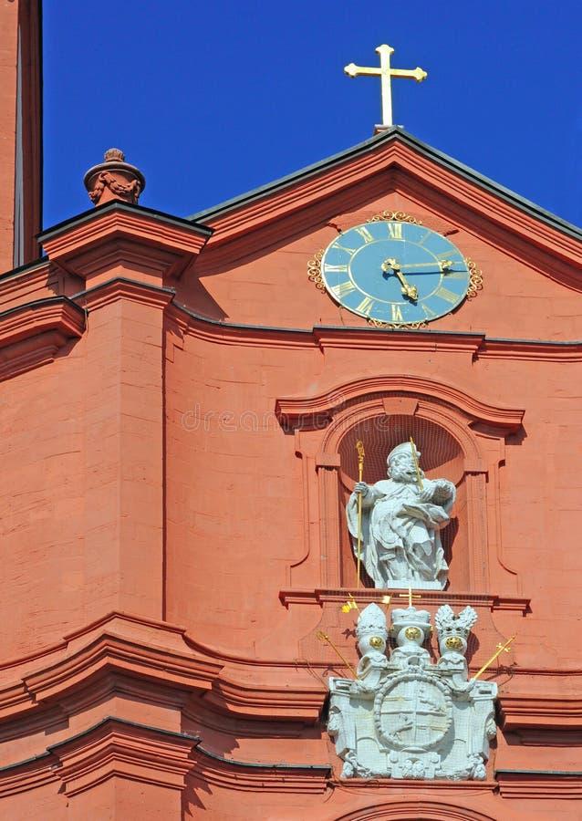 Fulda, germany. Baroque church of sankt blasius in fulda, germany, europe royalty free stock images
