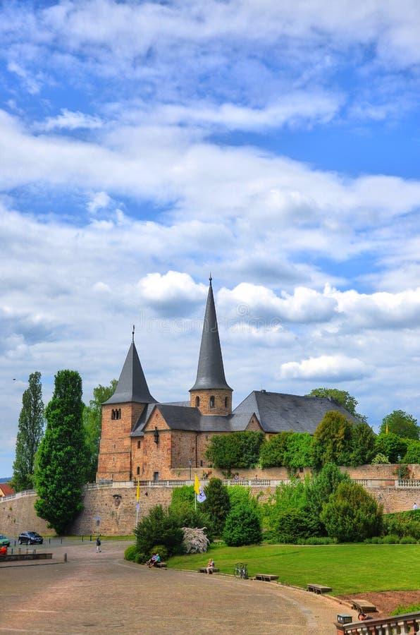 Fuldaer Dom (Cathedral) in Fulda stock photo