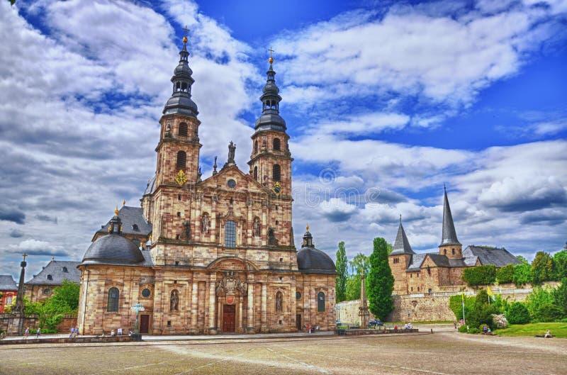 Fuldaer Dom Cathedral In Fulda Hessen Germany HDR Stock - Hessen germany