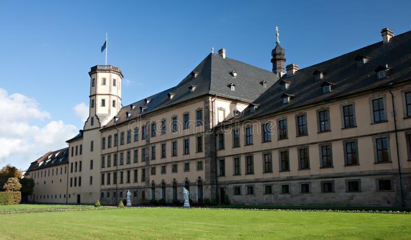 fuldaerstadtschloss arkivfoto