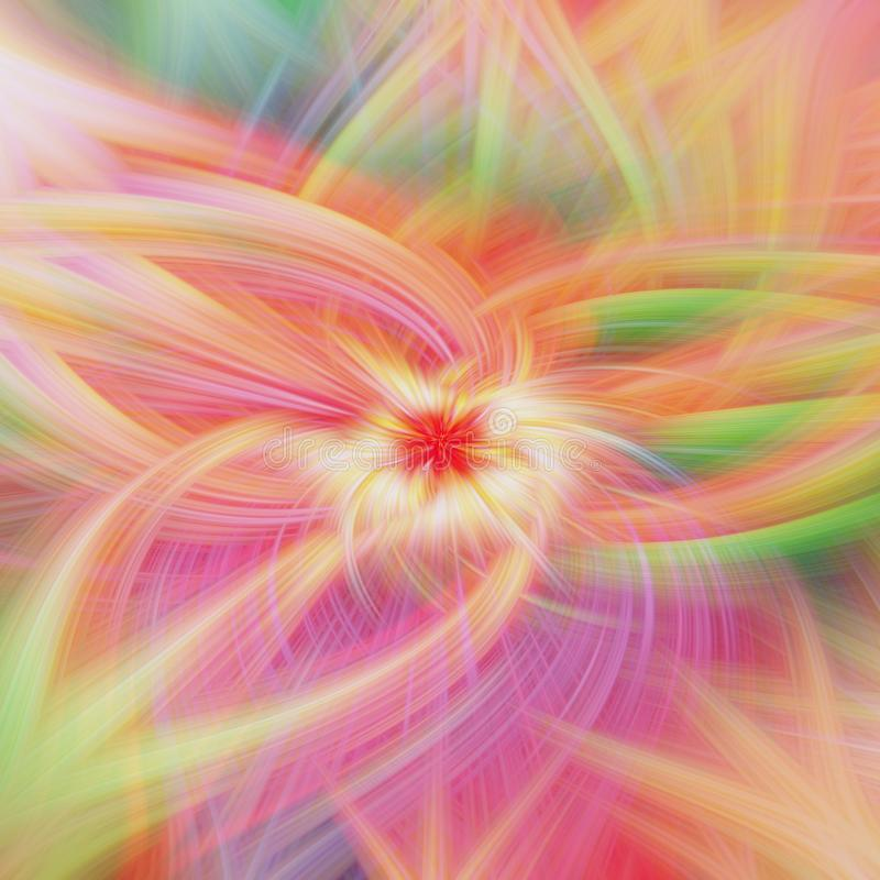 Fulgor floral da natureza do teste padr?o liso papel de parede quente ilustração do vetor
