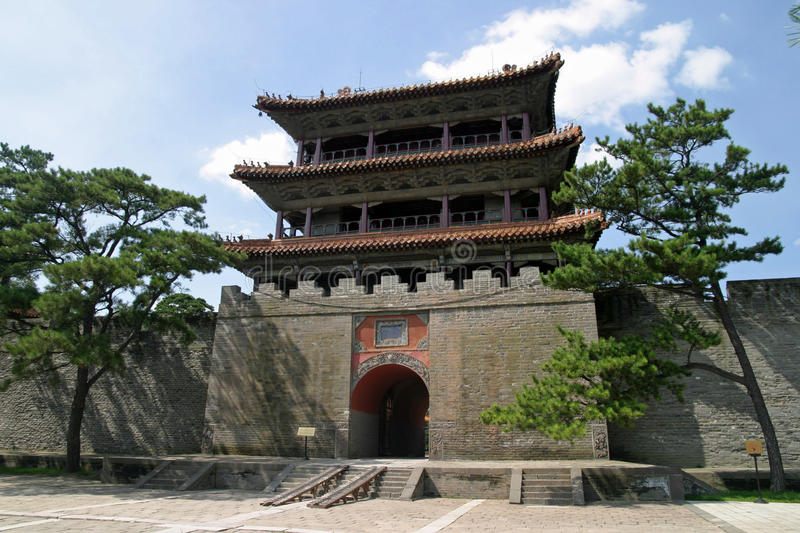 Fuling tomb stock images