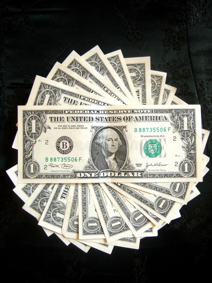 Full of American Money Dollar royalty free stock photos
