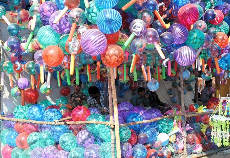 Full ballong för färg royaltyfri fotografi