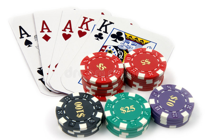 Full Boat Aces stock images