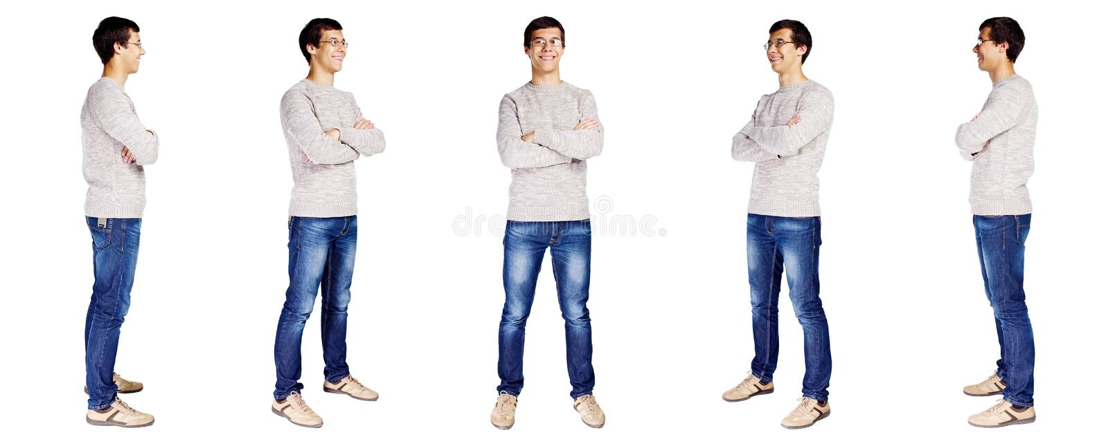Full body man royalty free stock image