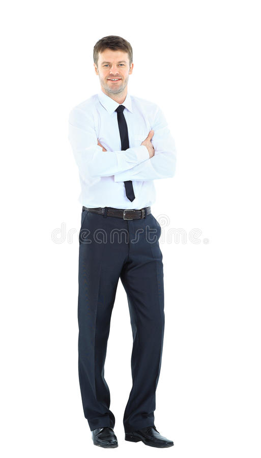 Full Body Portrait Of Happy Smiling Young Stock Photos