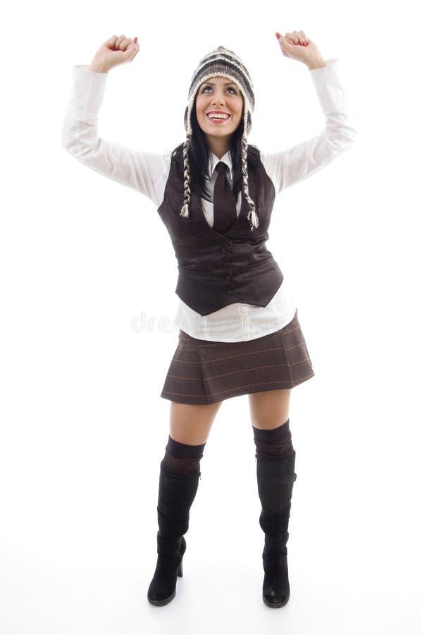 Download Full Body Pose Of Caucasian Female Stock Image - Image: 7361989