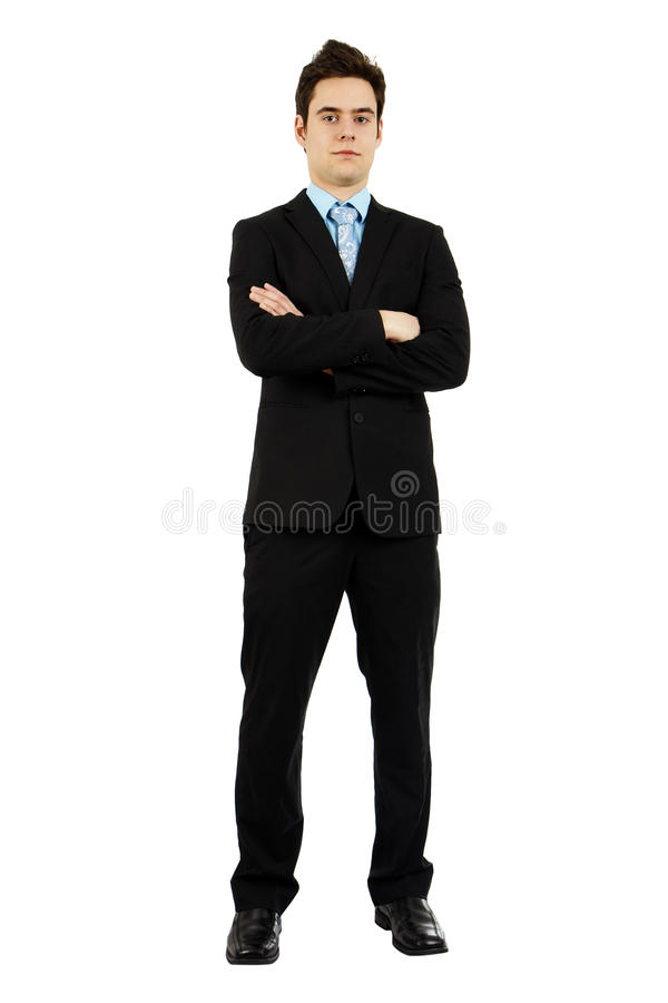 Download Full Body Shot Of Serious Handsome Young Man Stock Image - Image: 22205453