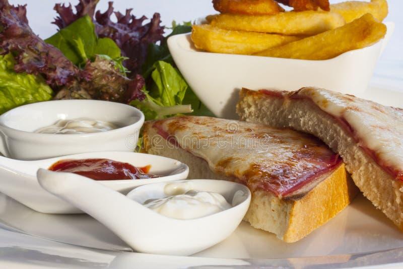 Full Breakfast, Dish, Food, Breakfast royalty free stock photo