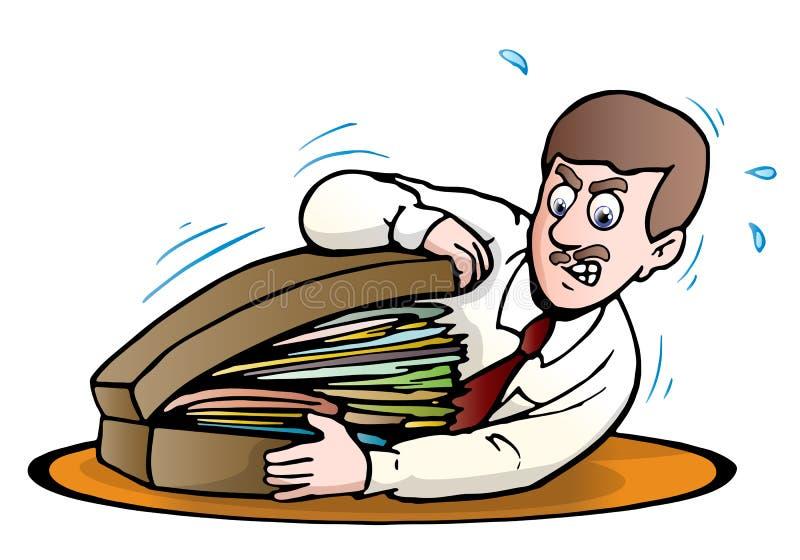 Download Full briefcase stock illustration. Illustration of commerce - 21744605
