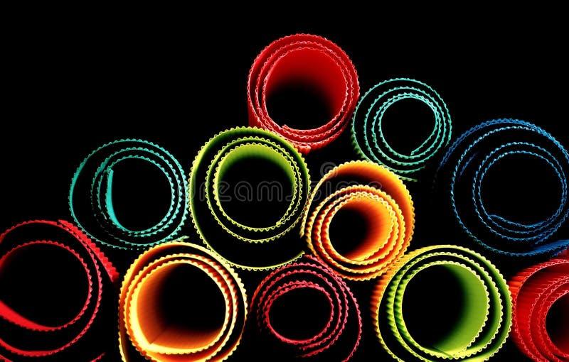 Full color paper. On studio lighting stock images