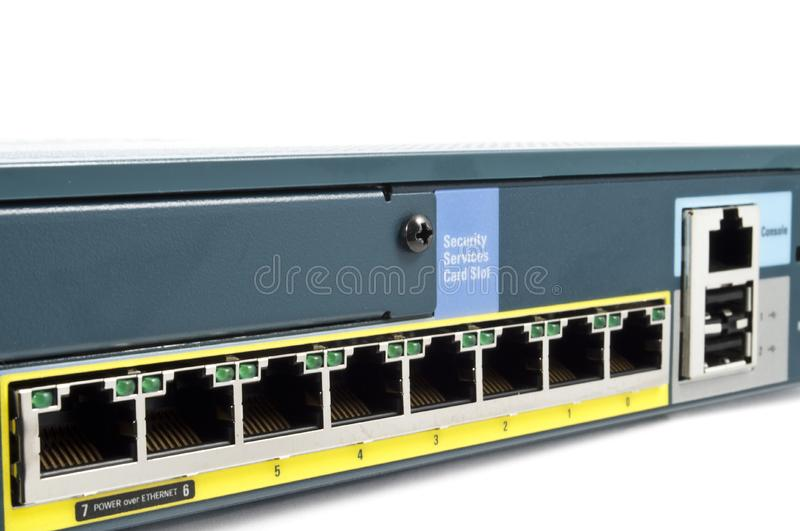 Download Full Ethernet firewall stock photo. Image of component - 15053626