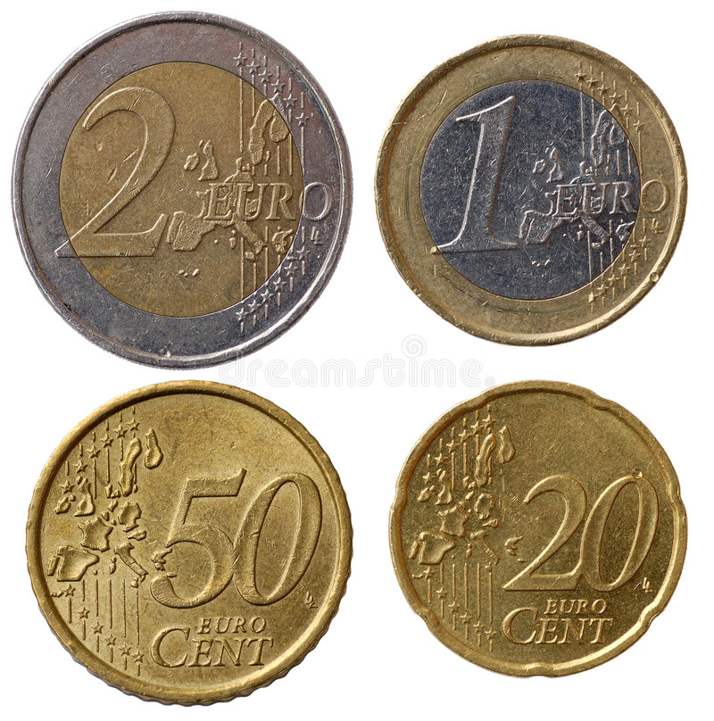 Free Full Euro Coins Set - Part 1 Royalty Free Stock Photo - 1519385