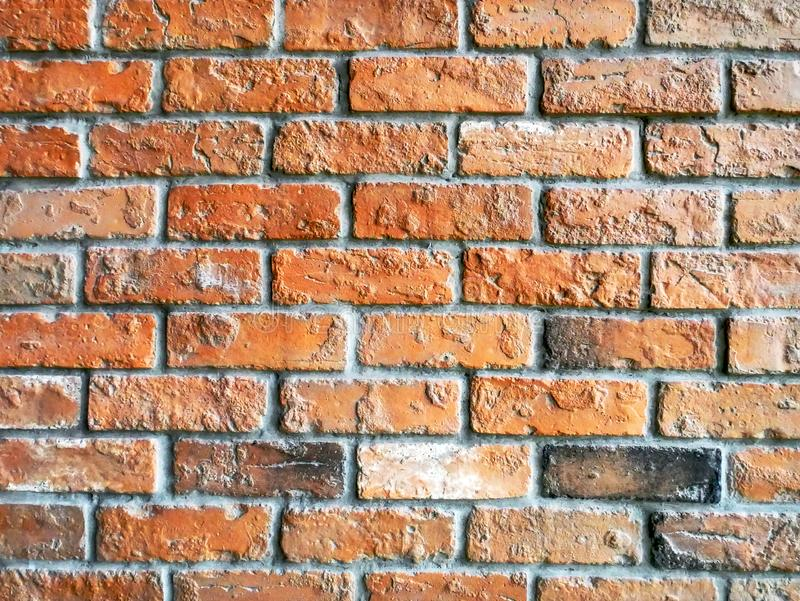 Full Frame Background of Brick Wall Pattern. Full Frame Background of Grungy Brick Wall Pattern royalty free stock photos