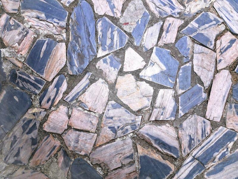Full Frame Background of Tiled Stone Floor stock photos