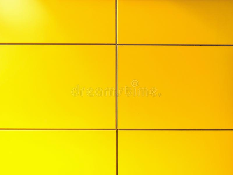 Full Frame Background of Yellow Tiled Wall stock photos