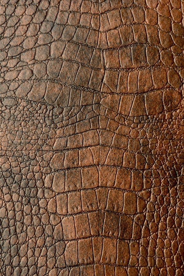 Full Frame Leather texture background. Full Frame Brown Leather texture background royalty free stock image