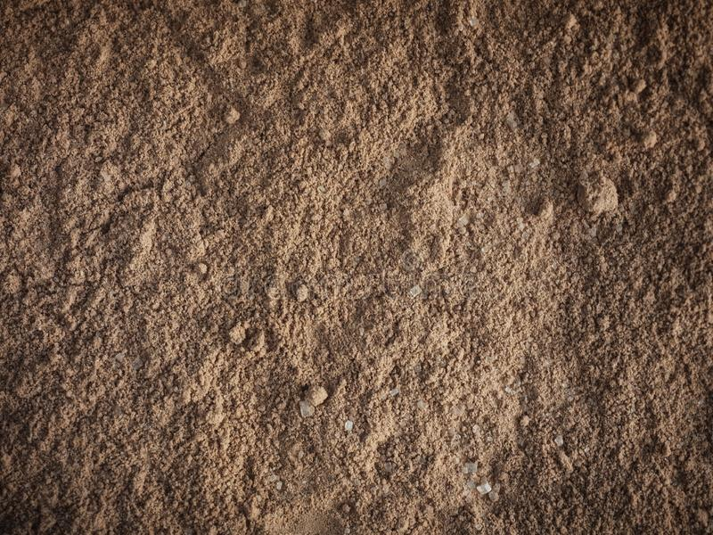 Full frame of brown sand texture background. Space for text. Use as wallpaper stock photography