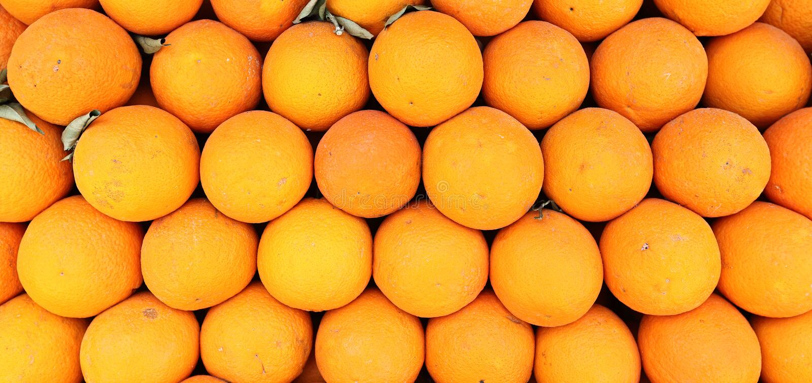 Full Frame Food Background: Oranges royalty free stock photos