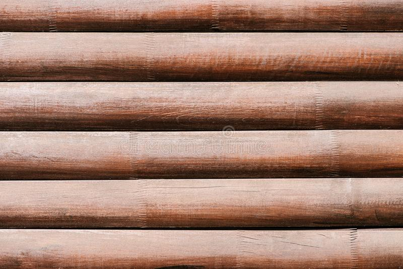 Full frame image of timbered. Wall background royalty free stock images