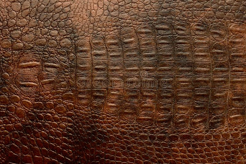 Full Frame Leather texture background. Full Frame Brown Leather texture background royalty free stock photography