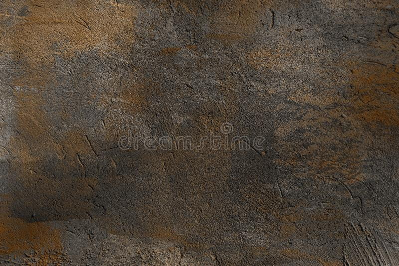 Full frame view of grey cracked wall textured background royalty free stock photos