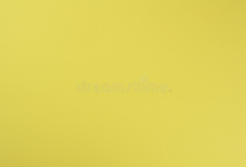 Full Frame Yellow Paper Background, Textured royalty free stock photo