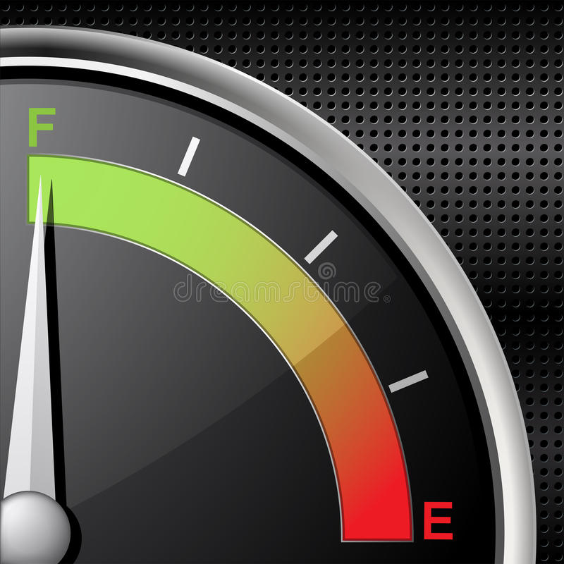Download Full fuel gauge stock vector. Illustration of sensor - 19623876