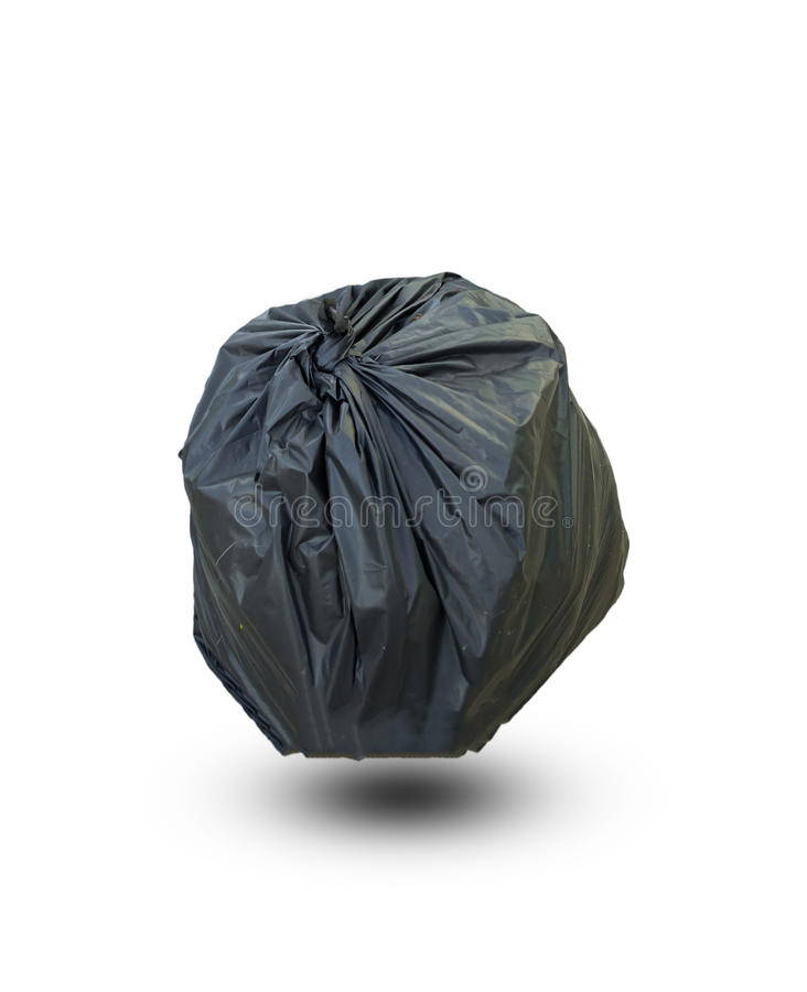 Full Garbage Bag stock photo