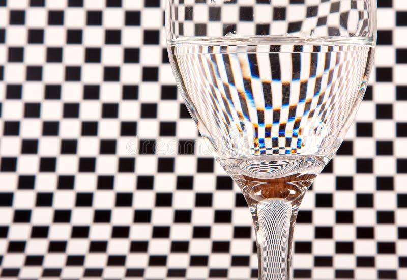 full glass half wine arkivbilder