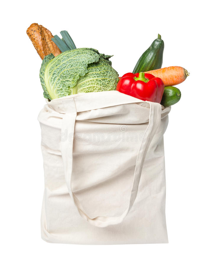 Download Full grocery bag with food stock photo. Image of ingredients - 37495412