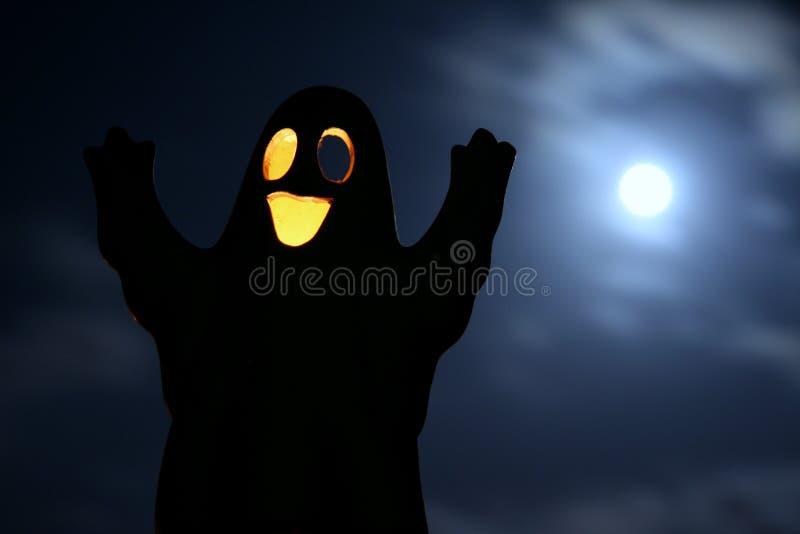 full halloween moon στοκ φωτογραφία με δικαίωμα ελεύθερης χρήσης
