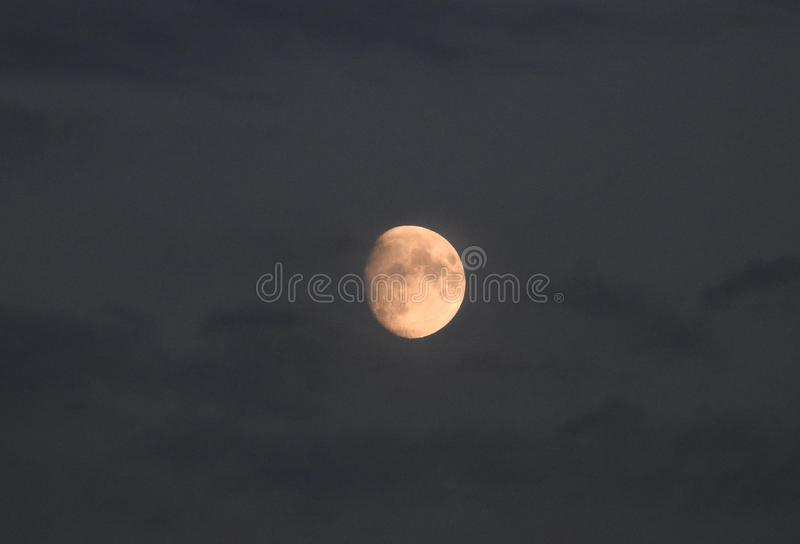 Harvest Moon UK Sept 2018 royalty free stock image