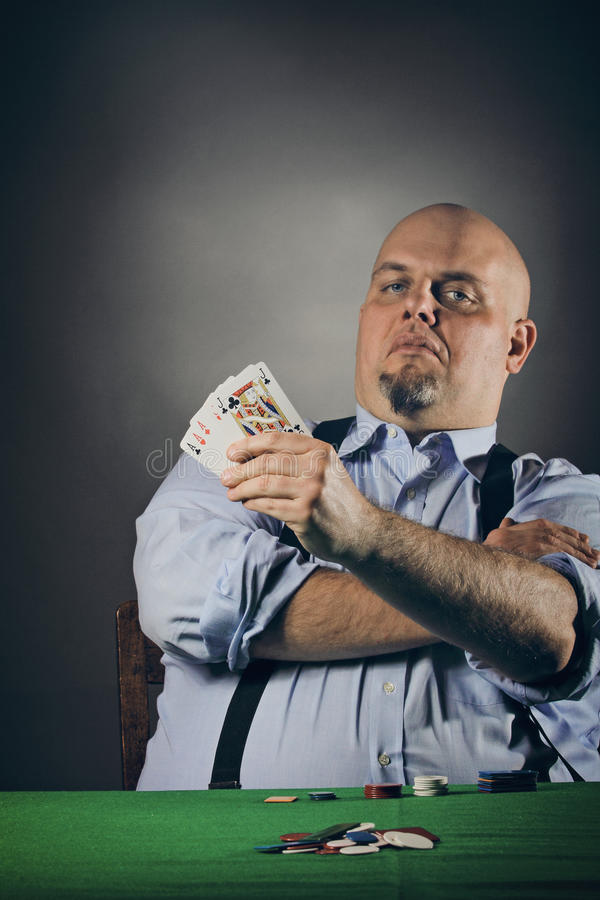 Download Full House stock photo. Image of expression, poker, portrait - 32685770