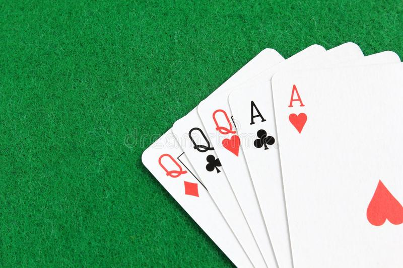 Download Full house stock image. Image of gamble, house, green - 34155511