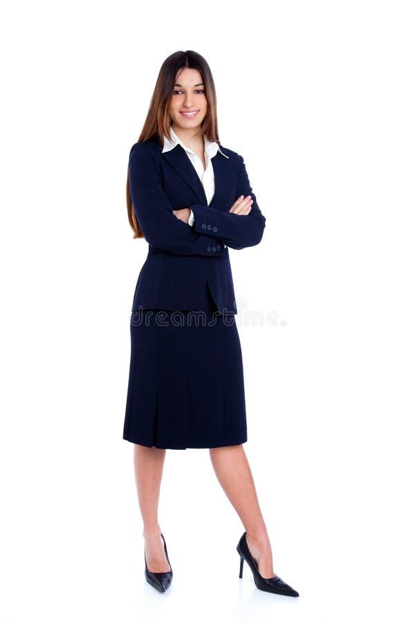 full indisk längdkvinna för asiatisk affär royaltyfria foton