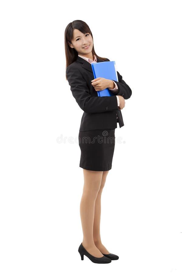 full längdkvinna för affär royaltyfria foton