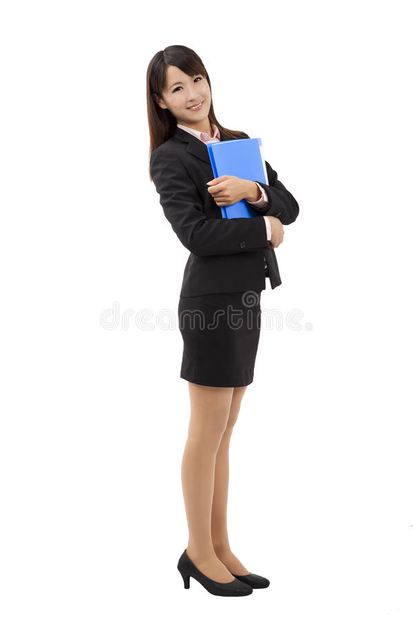 Download Full length Business woman stock photo. Image of black - 24051598
