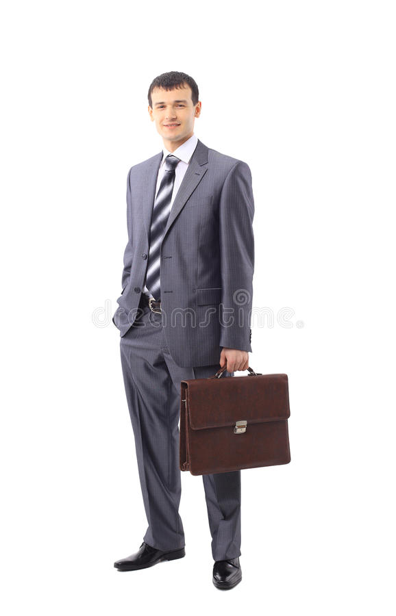 Full Length Of A Confident Business Royalty Free Stock Photos