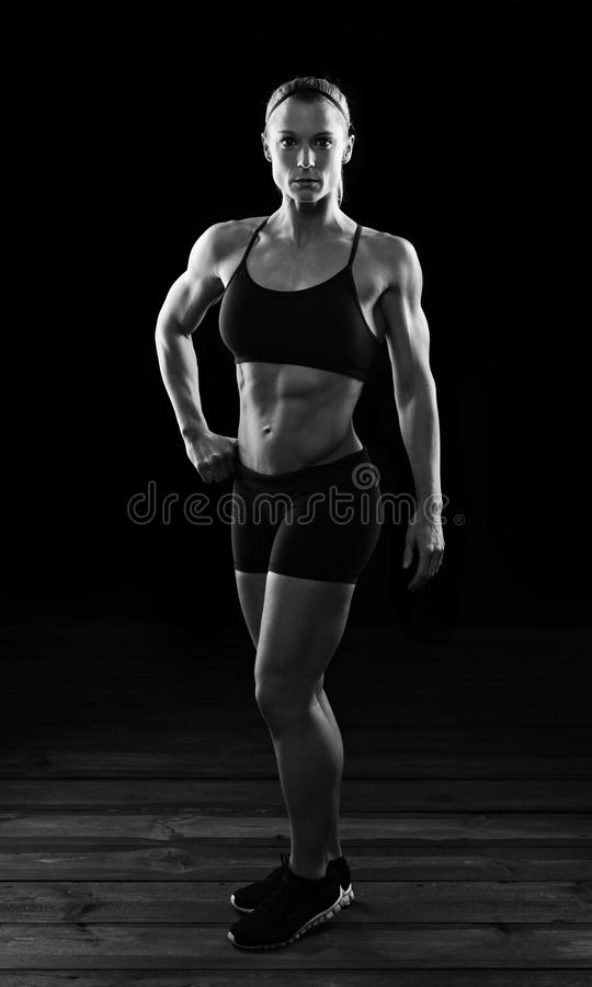 Full length fitness stock images