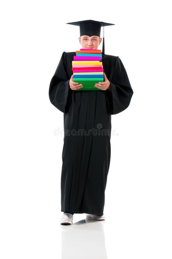 Full length graduation man stock photos