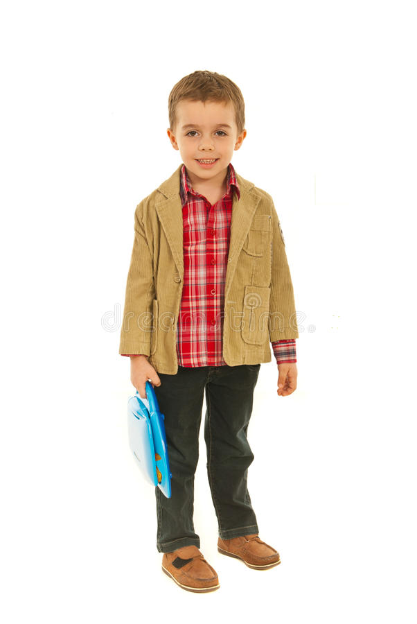 Download Full Length Of Little Business Child Stock Photo - Image: 23473338