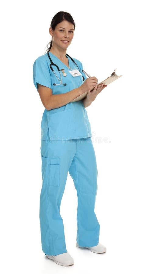 Attractive Young Nurse stock photos