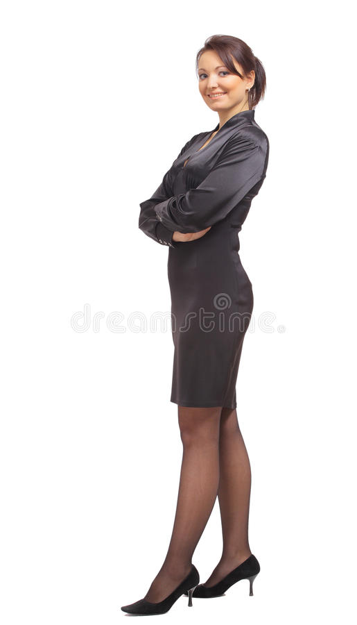 Full length portrait of a beautiful business stock images