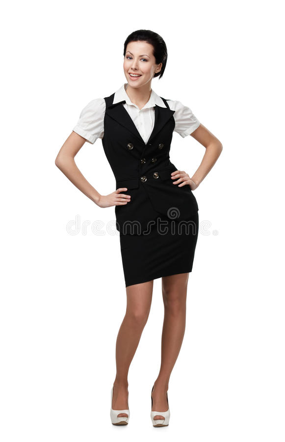 Download Full Length Portrait Of Business Woman Stock Image - Image: 27000089